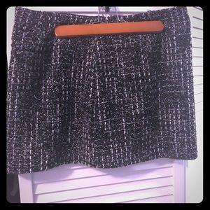 Short Skirt (Black, grey, & white) Forever 21